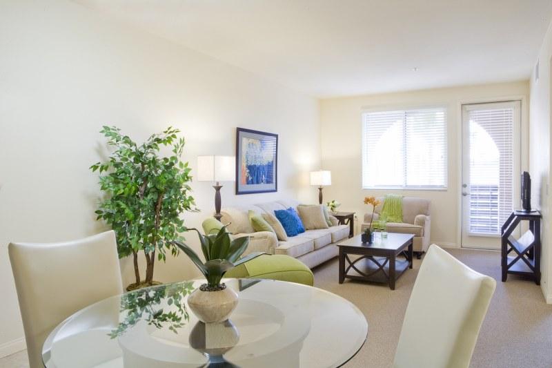 The Magnolia at Highland Senior Apartments living room