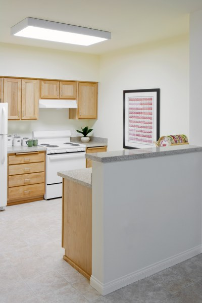 The Magnolia at Highland Senior Apartments kitchen view