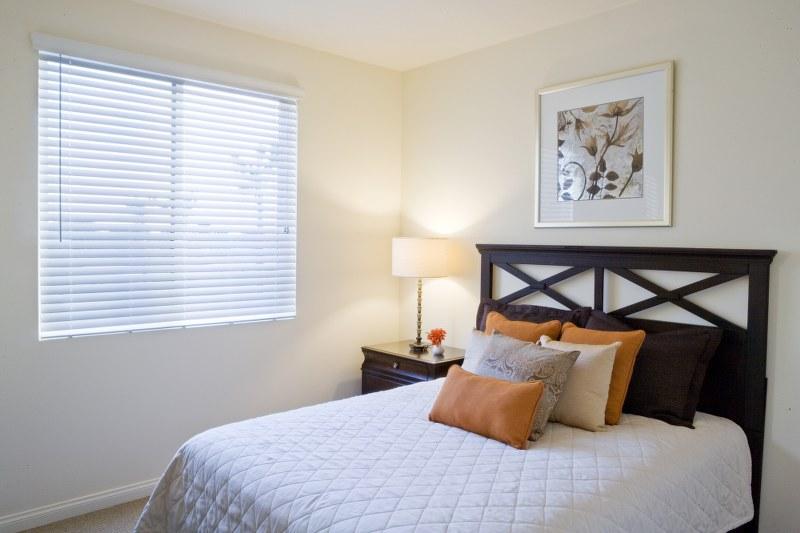 The Magnolia at Highland Senior Apartments bedroom view